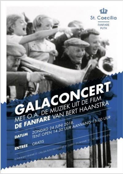ecc0db50e1d657 Gala Concert zondag 24 juni 2018, Tent open 14:30 aanvang 15:00 ENTREE  GRATIS